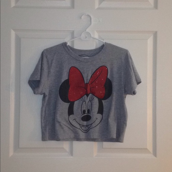 9a55f65a22b279 Disney Tops - Minnie Mouse Crop Top